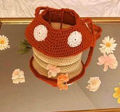 Diy Crochet Projects, Crochet Crafts, Knitting Projects, Crochet Patterns Amigurumi, Crochet Stitches, Cute Crochet, Knit Crochet, Crochet Mushroom, Crochet Fashion