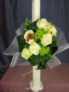 Lumanare nunta/botez de la 123flori Wedding Flowers, Horsehair, Bridal Flowers