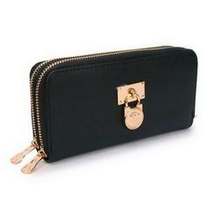 2017 new Michael Kors Hamilton Continental Lock Large Black Wallets on sale online, save up to 90% off dokuz limited offer, no tax and free shipping.#handbags #design #totebag #fashionbag #shoppingbag #womenbag #womensfashion #luxurydesign #luxurybag #michaelkors #handbagsale #michaelkorshandbags #totebag #shoppingbag