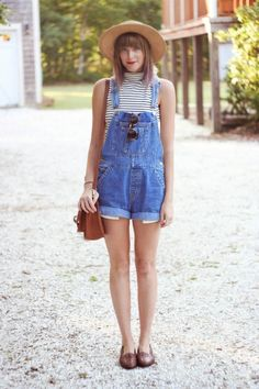 How To Style Overalls | @glitterguide theglitterguide.com