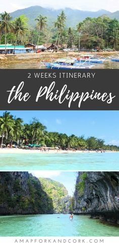 Philippines Travel Itinerary:  Best Places to Visit in 2 Weeks | Boracay | Bohol | El Nido, Palawan | Islands Adventure #Philippines #Travel #Guide