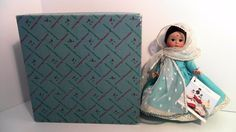 VINTAGE MADAME ALEXANDER DOLL INDIA  575 ORIGINAL BOX AND TAG #MADAMEALEXANDER #DollswithClothingAccessories