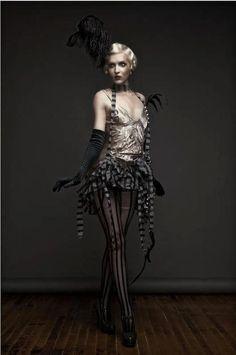 20's Style Burlesque Costume