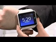 ▶ Neptune Pine Is an Android Phone in Watch Form - YouTube