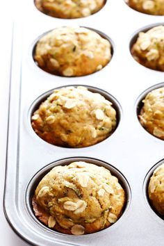 This zucchini muffins recipe is made healthier with whole wheat flour, naturally sweetened with maple syrup, and SO delicious! Zucchini Muffin Recipes, Muffin Tin Recipes, Baby Food Recipes, Cooking Recipes, Zucchini Tots, Zucchini Bread, Bread Recipes, Dessert Recipes, Oreo