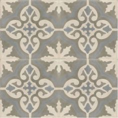Moroccan Encaustic Cement Pattern Grey Tile gr06 | £ 2.51 | Best Tile UK | Moroccan Tiles | Cement Tiles | Encaustic Tiles | Metro Subway Ti...