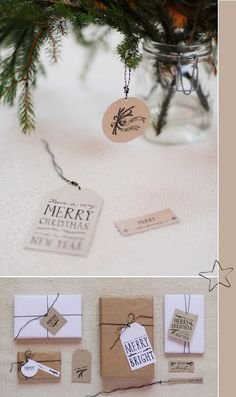 free printable christmas present tags