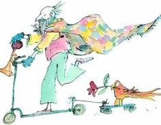 Brunswick Square, Quentin Blake Illustrations, Map, Drawings, Fictional Characters, Graphics, London, Google, Color