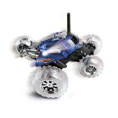 Toy RC Monster Spinning Car - Do jumps and and wheelies with the Black Series Remote Controlled 360 Thunder Tumbler. Remote Control Cars, Radio Control, Monster Car, Black Series, Cool Things To Buy, Stuff To Buy, 3 Things, Rally Car, Rc Cars