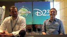 "Imagineers Jason Grandt and Wyatt Winter D23 DestinationD Interview. On November 22-23, D23 held its big annual event at the Contemporary Resort in Walt Disney World, ""Destination D: Attraction Rewind"". http://land.allears.net/blogs/lauragilbreath/2014/12/ | #D23 #Disney #ContemporaryResort #WDW #DisneyWorld #RetroDisney"