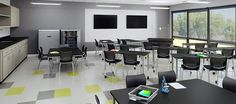 Smith System makes equipping the space easy with our wide variety of art classroom furniture. Our tables can be ordered with super durable Trespa TopLab Plus work surfaces to stand up to the constant spilling, abrasion and cleaning that takes place in a lab.