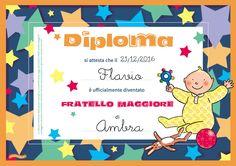 Il diploma di fratel