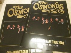 So deciding to bring a anniversary tour to the UK was a no brainer! The two eldest children of George and Olive Osmond were born with profound hearing problems. Hearing Problems, The Osmonds, 50th Anniversary, Jay