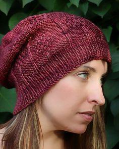 Gellatly Hat pattern by Okanagan Knit Co. | malabrigo Rios in Jupiter