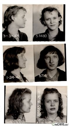 funny old mugshots | old fashion mugshots 17 Criminals used to have character (28 photos)