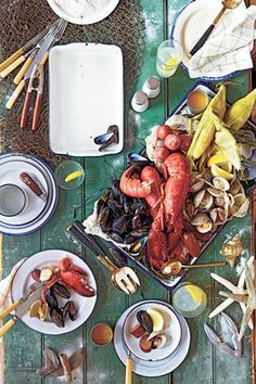New England Clam Boil, aka 'Kitchen Clambake'