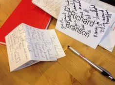 Google - The Secret of Successful Man Richard Branson shared by Nina Reynolds - Rose