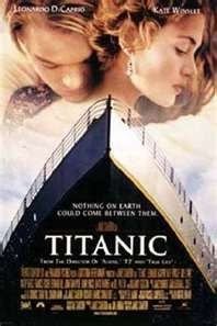 the movie titanic - one of my favorites!