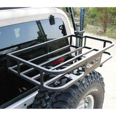 Trail Rack, works with #77900, G2 Series, TJ
