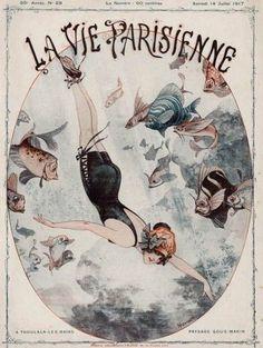 La Vie Parisienne, 1917 ~ Chéri Hérouard