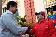 Maradona también es propagandista del régimen de Nicolás Maduro