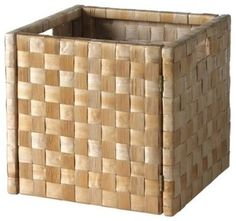 contemporary baskets by IKEA (under entry table)