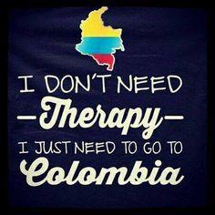 loving u Colombia and missing u !!!