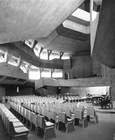 St. Johannes Baptist, Karlsruhe-Durlach, Germany, 1962-65  (Rainer Disse & Immo Reinhold)