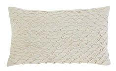 Stitched Beige Pillow 4pc Set