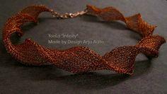 YooLa Infinty necklace. Wire Work, Jewelry, Design, Jewlery, Bijoux, Schmuck, Jewerly, Jewels, Jewelery