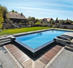 piscine bois pente - Recherche Google