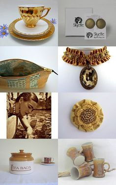 Golden Brown Beauty by Chrissy Mason on Etsy--Pinned with TreasuryPin.com