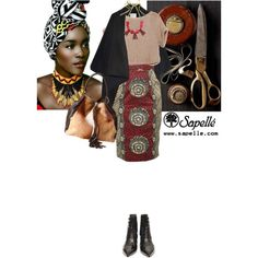 """""""love this skirt!"""" by saramoreira on Polyvore ~African Prints, African women dresses, Kitenge, Ankara, Kente, African fashion styles, African clothing, Nigerian style, Ghanaian fashion ~DK"""