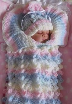 How to Crochet Cable Stitch Newborn Baby Bunting Cocoon s media cache originals fe 81 Angies Angels patterns - exclusive designer knitting and crochet patterns for your precious baby or reborn dolls, handmade, handknitted, bab… This Pin was discovered b Baby Cardigan Knitting Pattern, Crochet Blanket Patterns, Baby Blanket Crochet, Baby Knitting Patterns, Baby Shawl, Baby Vest, Afghan Patterns, Free Knitting, Crochet Ideas