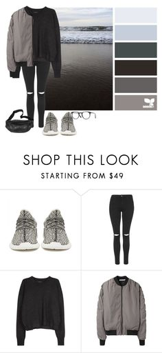 """10.04.2017"" by katykat00 ❤ liked on Polyvore featuring adidas Originals, Topshop, Isabel Marant, T By Alexander Wang and Oliver Peoples"