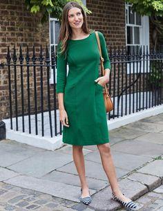 Trinity Jersey Dress J0134 Day Dresses at Boden