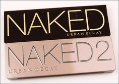 Urban Decay Naked 1 vs. Naked 2 Palette Dupes & Comparison Swatches