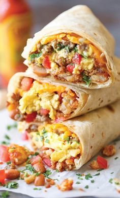 The Breakfast Burritos That'll Get You Out Of Bed | The Huffington Post