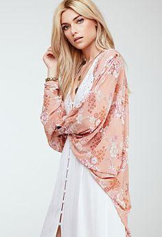 Floral Print Kimono | Forever 21 - 2052288279