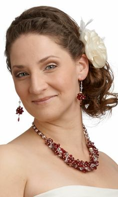 Single-Strand Necklace and Earring Set with SWAROVSKI ELEMENTS and Sterling Silver-Filled Beads - Fire Mountain Gems and Beads