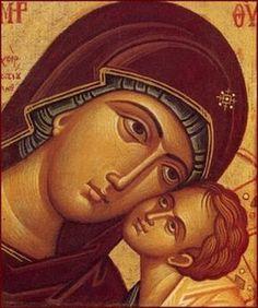 Photios Kontoglou: The Greatest Icon Painter of Century Greece Religious Icons, Religious Art, Good Shepard, Virgin Mary Art, Best Icons, Byzantine Art, Orthodox Icons, Wassily Kandinsky, Mother Mary