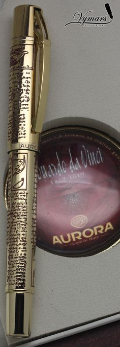 Aurora Leonardo Da Vinci - write out your dreams. Don't forget a dreamy card… Pencil Writing, Writing Pens, Objets Antiques, Luxury Pens, Fine Pens, Calligraphy Pens, Dip Pen, Pencil And Paper, Fountain Pen Ink
