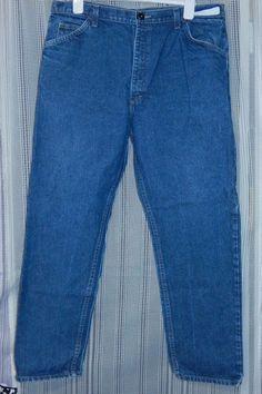 Mens Bulwark FR Work Jeans W40/L32  ATPV 20.7 #Bulwark #ClassicStraightLeg