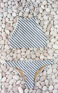 Nautical bikini | The Lifestyle Edit