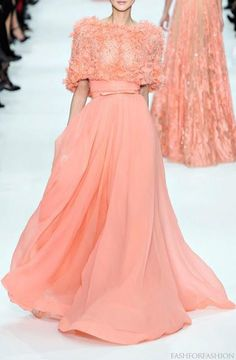 Peach color! In love....GORGEOUS
