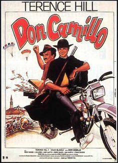 don camillo hill affiche   Affiche du film Don Camillo de Terence Hill