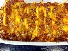 Chili Cheese Enchiladas