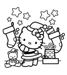 hello kitty merry christmas Hello Kitty Pinterest Hello