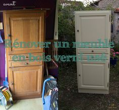 Rénover un meuble verni usé : une armoire pour le salon video