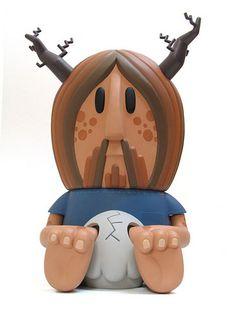 Monsterism Van Orlax big vinyl figure | Flickr: Intercambio de fotos